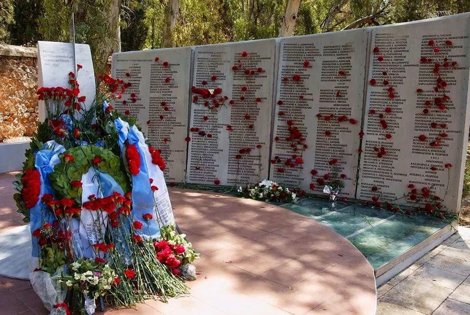 Το μνημείο των 283 εκτελεσθέντων