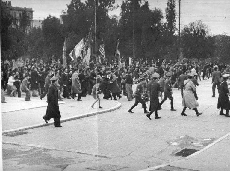 Αποτέλεσμα εικόνας για Η ΜΑΤΩΜΕΝΗ ΔΙΑΔΗΛΩΣΗ ΤΟΥ ΔΕΚΕΜΒΡΗ 1944