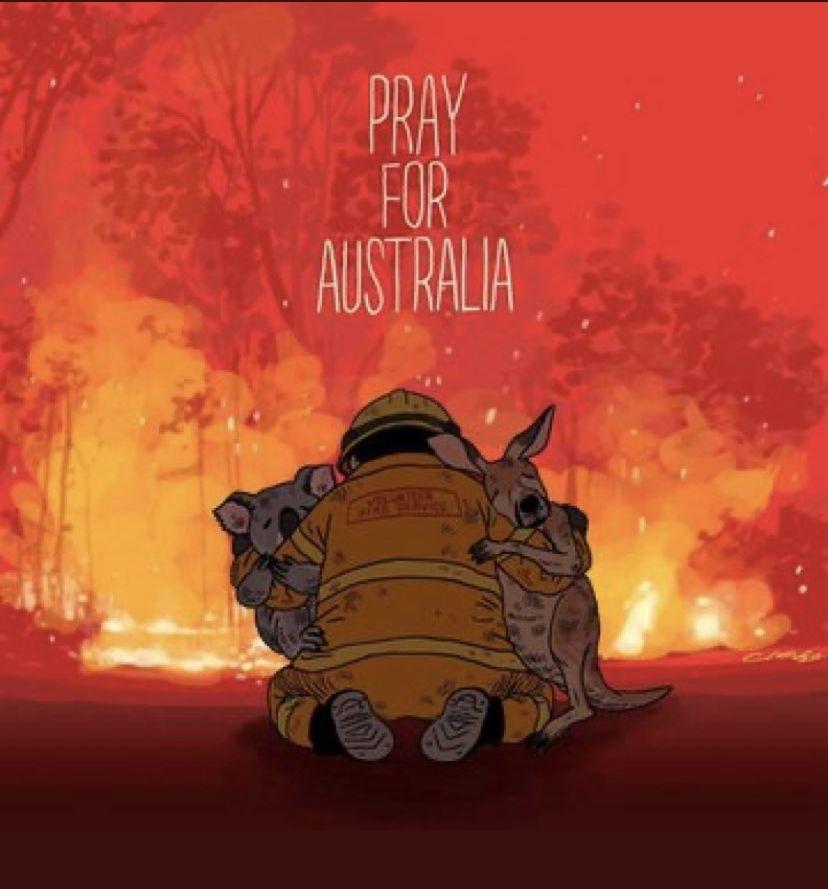 Αυστραλία, πυρκαγιά