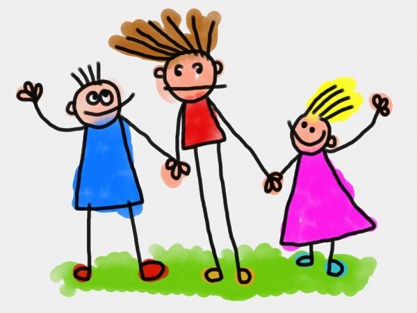 παιδιά, σκίτσο, ζωγραφιά, νήπια