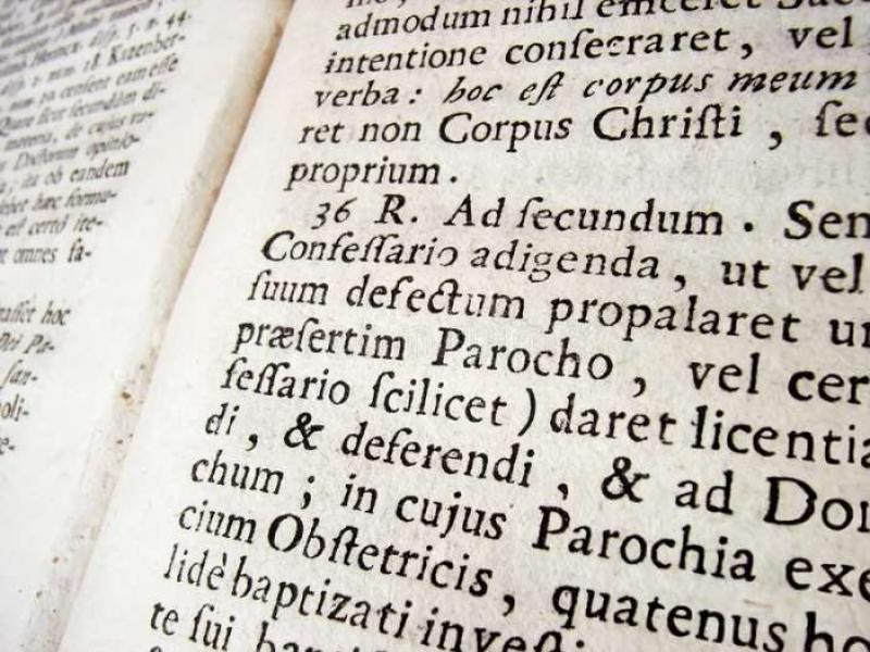 Λατινικά: Οι οδηγίες διδασκαλίας και η ύλη για Β' και Γ' Λυκείου