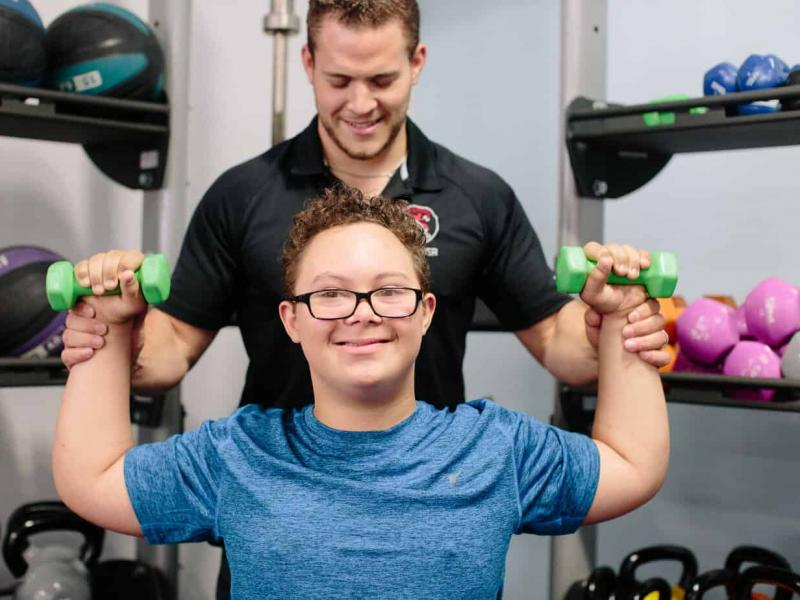 Διαδικτυακή γυμναστική για άτομα με σύνδρομο Down