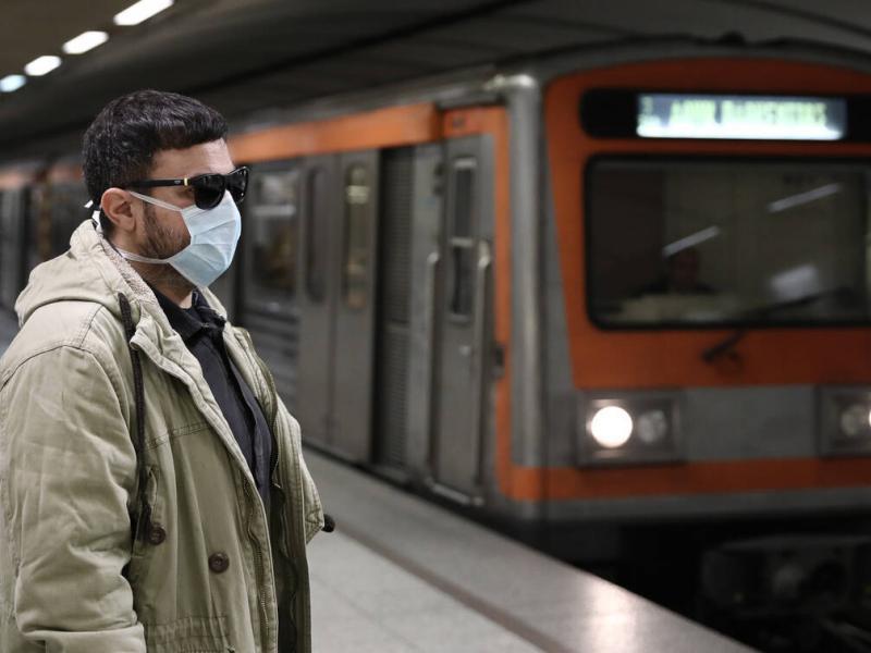 Με μάσκες και απόσταση ασφαλείας στα Μέσα Μαζικής Μεταφοράς   Alfavita