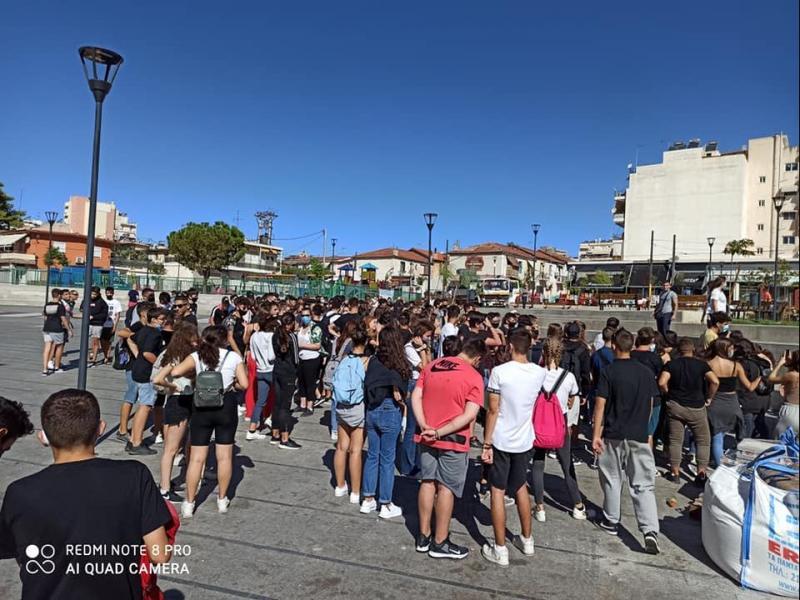 Κερατσίνι: Στους δρόμους οι μαθητές - Κάλεσμα και στο συλλαλητήριο στα Προπύλαια