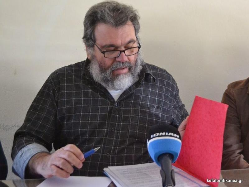 Θλίψη για τον θάνατο του εκπαιδευτικού Διονύση Γεωργόπουλου