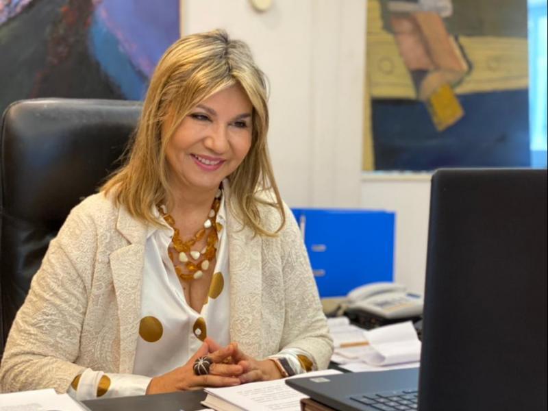 Η Ζέττα Μακρή στο 6ο Συμπόσιο Γυμνασίων του Δικτύου UNESCO