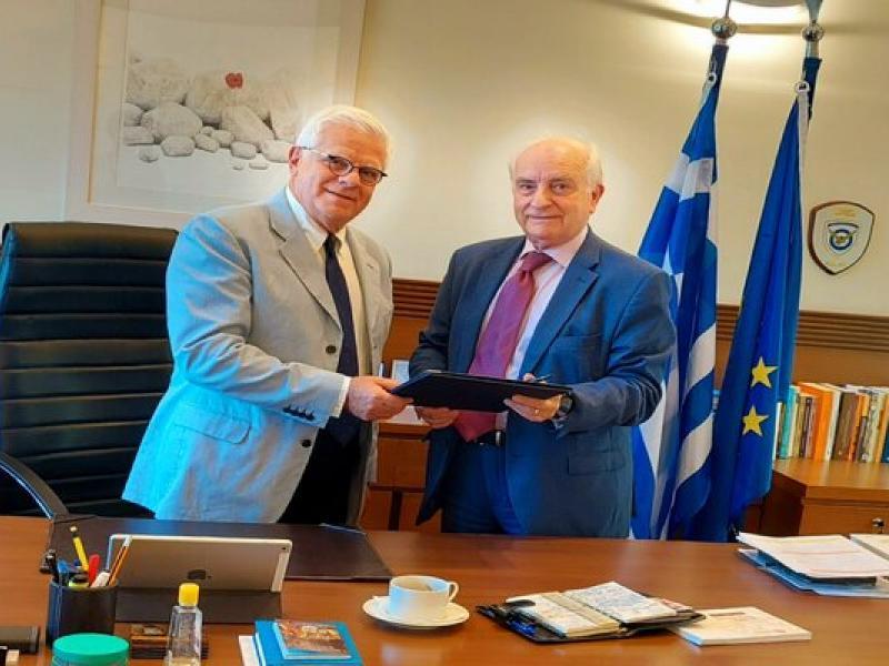 Πρωτόκολλο συνεργασίας Υπ. Παιδείας - Ελληνικού Ανοικτού Πανεπιστημίου