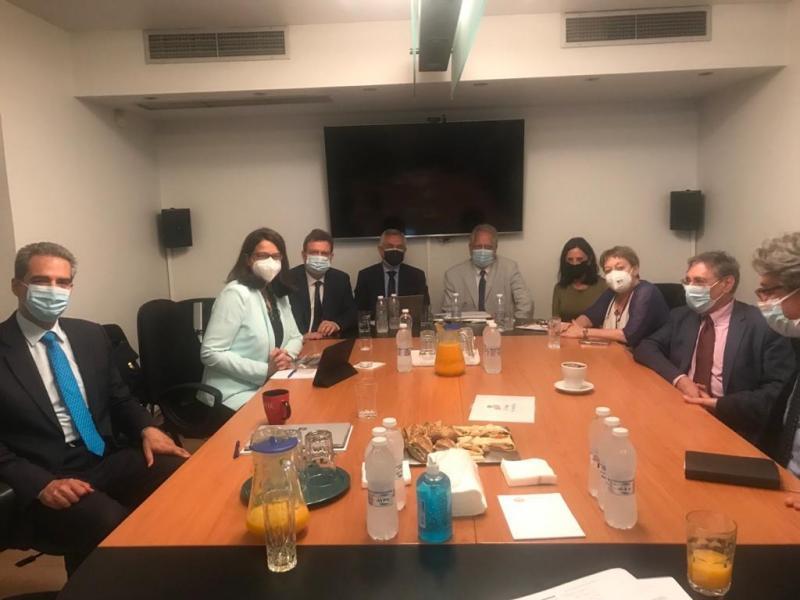 Συνάντηση Πολιτικής Ηγεσίας ΥΠΑΙΘ με το Ανώτατο Συμβούλιο της Εθνικής Αρχής Ανώτατης Εκπαίδευσης