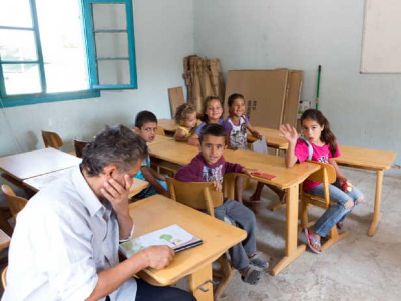 εκπαίδευση προσφύγων