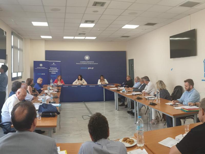Σύσκεψη Κεραμέως-Ζαχαράκη με Περιφερειακούς Διευθυντές Εκπαίδευσης για διορισμούς, προσλήψεις και νέα σχολική χρονιά