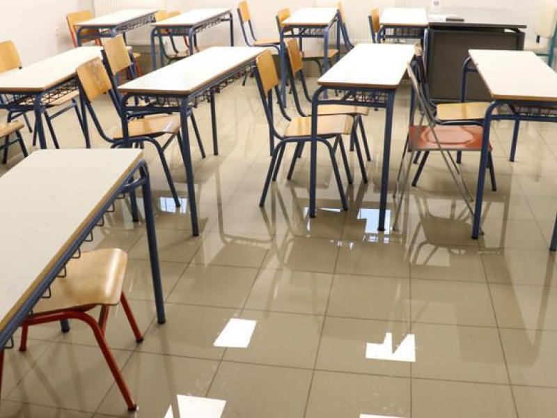 Ζημιές σε σχολεία από την κακοκαιρία: Πλημμύρισαν δύο κτίρια στο Ηράκλειο