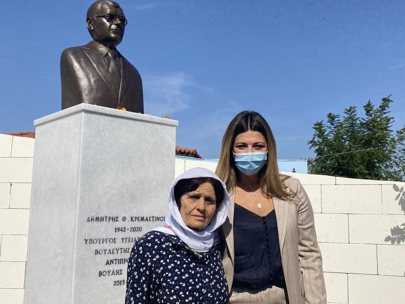 Επίσκεψη στη Ρόδο και τη Χάλκη πραγματοποίησε η υφυπουργός Σοφία Ζαχαράκη