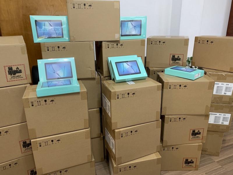 Τηλεκπαίδευση: 500 tablet για τους μαθητές εξασφάλισε ο Δήμαρχος Αγίων Αναργύρων-Καματερού