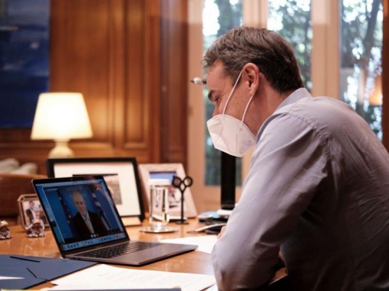 Μητσοτάκης για τηλεκπαίδευση: Επιτυχής η προσπάθεια, παρά τα προβλήματα