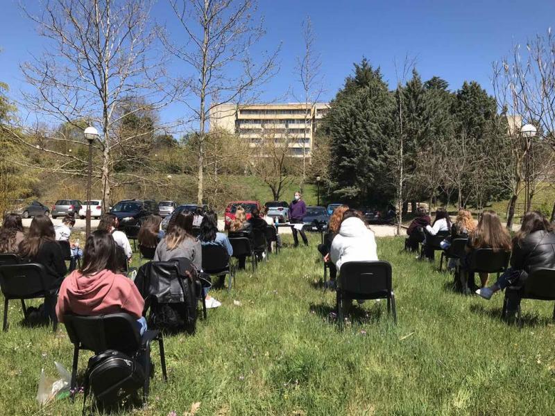 Φοιτητές: Δια ζώσης διάλεξη στο Πανεπιστήμιο Ιωαννίνων