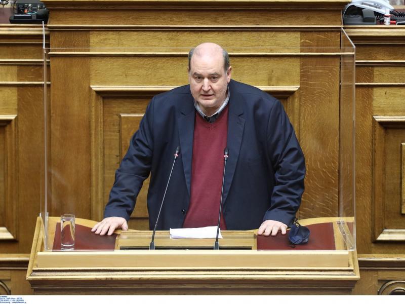 Νίκος Φίλης - Βουλή