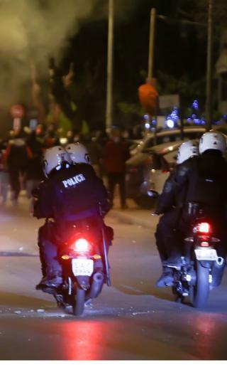 Στοχευμένη διεκδίκηση απέναντι στη βία και στην αστυνομοκρατία