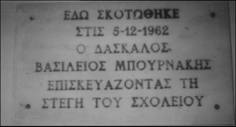 η θυσία ενός δασκάλου, Νίκος Πολυμενάκος